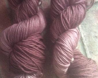 Katy-Did-It  - Hand Dyed Merino/Silk Yarn Aran Weight