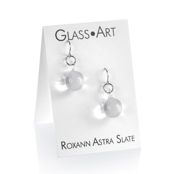 Small Ball Drop Earrings