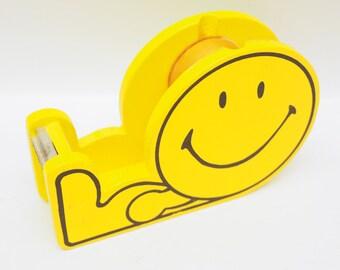 Tape dispenser - vintage happy face
