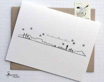 Generic Desert Town - City Skyline Series - Folded Cards (6)