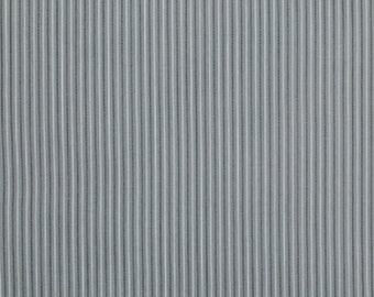 Verna Mosquera Fabric by the Yard - Billet Doux - Pinstripe in Smoke - Quilter's Cotton