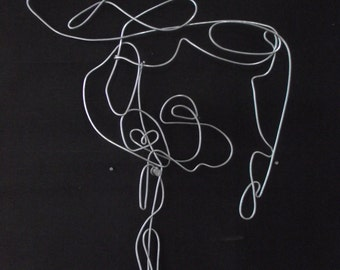 Wire Gymnast Sculpture
