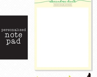 Customizable Signature Notepad