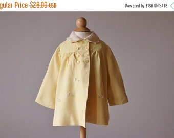 ON SALE 1950s Spring Swing Jacket~Size 12 Months