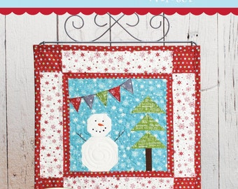 PATTERN WINTER CHRISTMAS A Season of Minis Mini Quilt