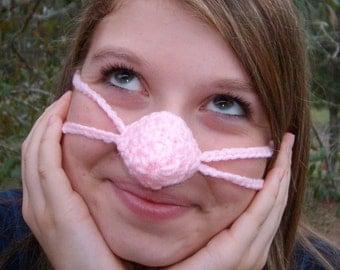Nose Warmer, Pinkey Nose, Teen,Tween, Woman, Nose Cozy, Cold Nose Cover, Adult, Vegan Friendly, Indoor Outdoor, Work, Mother, Gramdna, Aunt