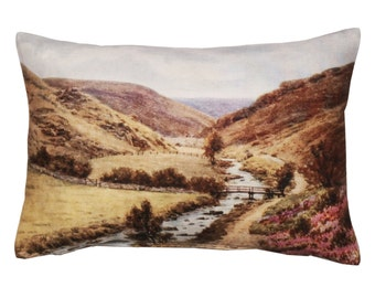Cushion, Valley scenery design, landscape photography