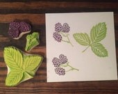 Blackberry Rubber Stamps