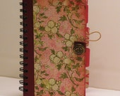 Journal, Mini Journals, Book Jotter, Spiral Journal, Mini Note Pad, Mini Tablet, 82 Page, 4 Divider Pages