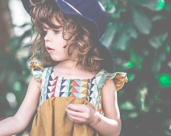 Bohemian Girls Dress-Photo Prop-The Preslee Dress