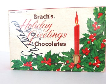 Vintage Brach's Box of Quilt Patterns and Templates