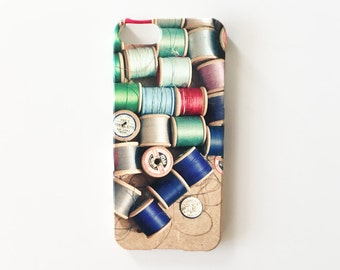 CLEARANCE SALE! Cotton Reel Phone Case for iPhone 5/5s - Cotton Reels