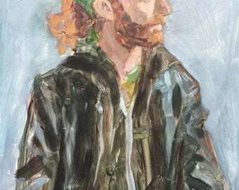 Figure study 3 - original painting