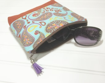 Suede bottomed cosmetic bag - Anna Maria Horner Bohemian