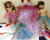 Baby Doll TuTu skirts, fit American Girl Dolls, Bitty Baby or 10-12 inch dolls