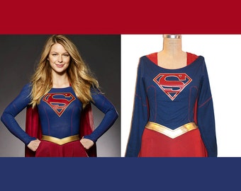 Supergirl Costume Replica... Melissa Benoist Super Girl Costume TV Series Costume... Choose your Style/Price