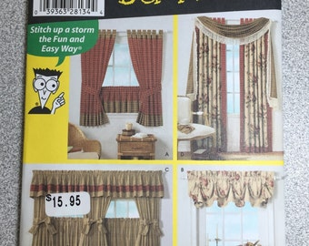 Window Treatment Sewing Pattern