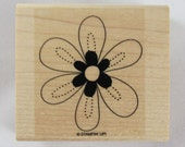 Stampin Up! - Flower Rubber Stamp #RS224