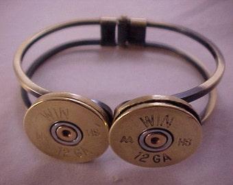 Shotgun Shell Bracelet - 12 Gauge Shotgun Shell Bracelet