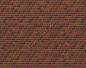 """RJR / Dan Morris / """"Danscape Naturals & Architectural"""" #1426002 Small Bricks Fabric Priced Per 1/2 Yard"""