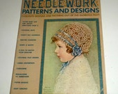 Vintage Olde Time Needlework Patterns and Designs - 1973 Pattern Magazine - Tatting, Embroidery, Knitting, Quilting Patterns