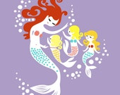 11X14 Mermaids for Alicia