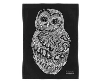 Baby Owl Kitchen Towel