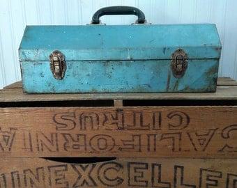 Vintage Tool Box The Wild Raspberry