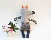 Plush Stuffed Toy Animal Doll Softie Fox Toy Eco Friendly Soft Toy Baby Toy