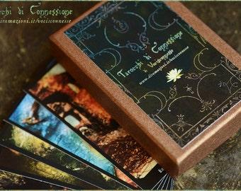 Tarocchi di connessione - Tarot deck by Vocisconnesse - Major Arcana - in COPPER box