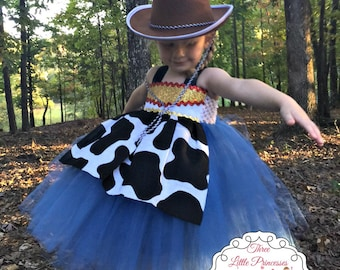 Toy Story Jessie Tutu Dress - Jessie Costume - Jessie Dress