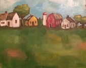 Little Farm original painting