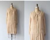 25% OFF SALE Sweet Almond dress | vintage 1920s dress | antique silk 20s dress