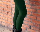 Bamboo Bliss Legging - Heather Forest (Green)
