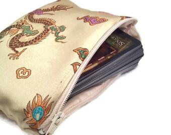 Tarot Card Bag - Oracle Deck Bag - Tarot Cards - Tarot Deck - Crystal Wand - Crystal Bag - Angel Cards Bag - Tarot Bag - Altar Tools