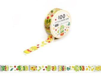 Masking Tape / Washi Tape / Deco Tape - 15mm - Salad Jar