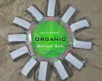 All Purpose Organic Bonsai Fertilizer [One Year Supply]