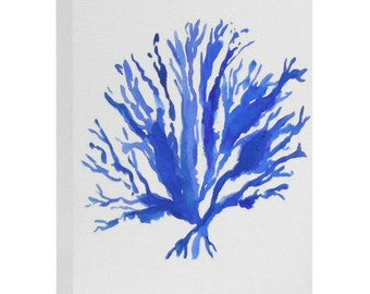 Sea Coral Art Canvas