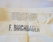 sale Vintage BUTCHER or WAITER APRON union made label usa employee marked