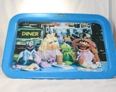 vintage 1970s 1980s Muppets TV tray