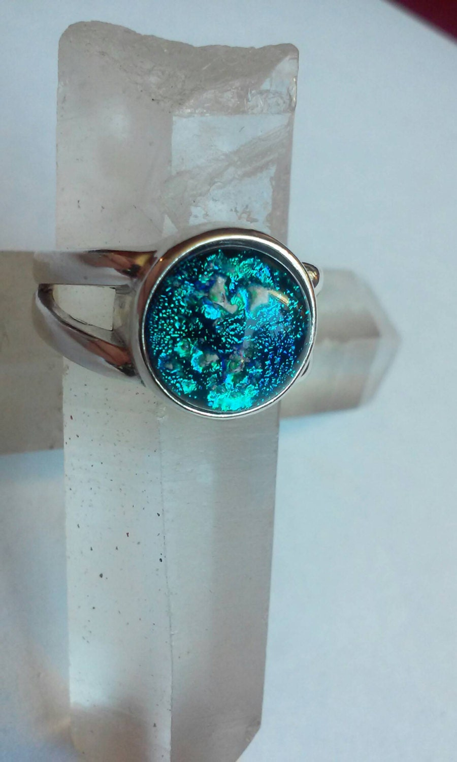 cremation jewelry ring size 7 ashes infused into by