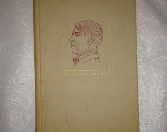 Carl Sandburg, by Harry Golden, First Edition