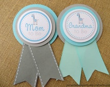 Giraffe Baby Shower Decorations, Baby Shower Decorations, Baby Shower Décor, Giraffe Baby Shower Mom To Be Pin, Choose The Colors