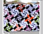 Starry Skyline #224 - Paper Pieced Quilt Pattern PDF - 3 sizes