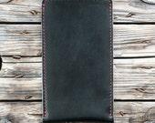 iPhone SE, 5, 4, 3 Leather Sleeve  SHERLOCK (Organic Leather)