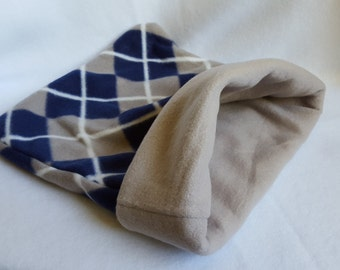 Blue and Gray Guinea Pig and Small Animal Cuddle Sack
