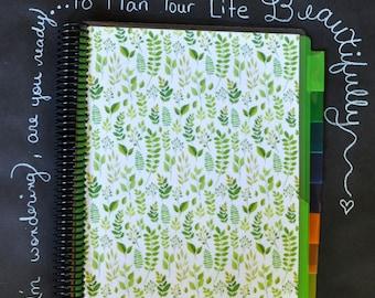 Spiral Bound Pocket Folder Organizer Book