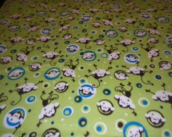 Monkeys Fleece Throw Blanket