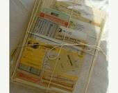 20PercentOff Antique Hand Selected Altered Journal Unused Ephemera 24pc