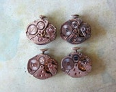 STeampunk watch parts - Vintage Antique Watch movements Steampunk - Scrapbooking W12